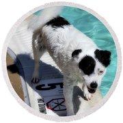 Pool Director Too Round Beach Towel