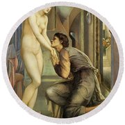 Pygmalion And The Image, The Soul Attains - Digital Remastered Edition Round Beach Towel