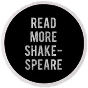 Read More Shakespeare Vintage Round Beach Towel