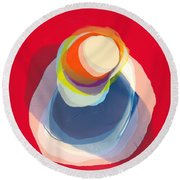 Reflective Round Beach Towel