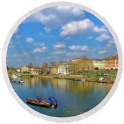 Richmond Upon Thames - Panorama Round Beach Towel
