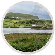 Ring Of Kerry Round Beach Towel