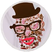 Risby Ringmaster Round Beach Towel