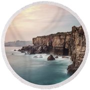 Rise Of The Infernal Round Beach Towel