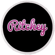 Ritchey #ritchey Round Beach Towel