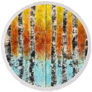 Dreamside Round Beach Towel