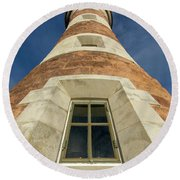 Roker Lighthouse 3 Round Beach Towel