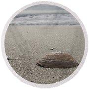 Seashell Round Beach Towel