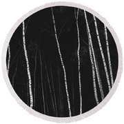 Seclusion Round Beach Towel