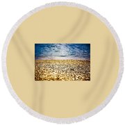 Shell Shocke Round Beach Towel