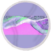 Sherbet Shores Round Beach Towel