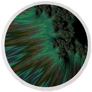 Sherwood Forest. Round Beach Towel