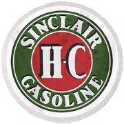 Sinclair Gasoline Round Beach Towel