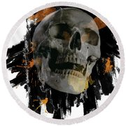 Skull - 4 Round Beach Towel