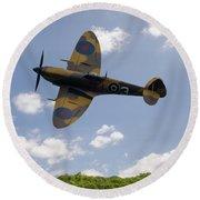 Spitfire Mk356 Round Beach Towel