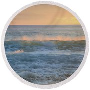 Spray Round Beach Towel