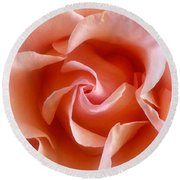 Spring Rose Round Beach Towel