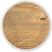 Standing Tall Round Beach Towel by Carl Young