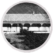Stonecypher House Round Beach Towel