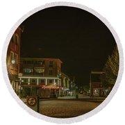 Stora Torget 1 #i0 Round Beach Towel by Leif Sohlman