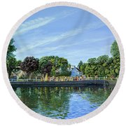 Straw Jack Carshalton Round Beach Towel