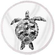 Tartoise Round Beach Towel