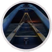 The Crossing Round Beach Towel