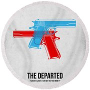 The Departed Round Beach Towel