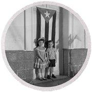 The Future Cuba Round Beach Towel