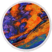 The Grand Canyon_2 Round Beach Towel
