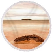 The Great Unknown Round Beach Towel