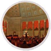 The House Of Representatives, 1822 Round Beach Towel