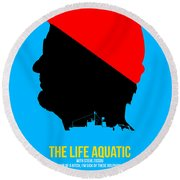The Life Aquatic Round Beach Towel