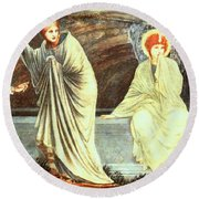 The Morning Of The Resurrection 1882 Round Beach Towel