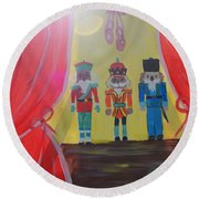 The Nutcrackers Round Beach Towel