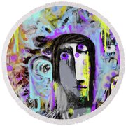 The Reckoning Round Beach Towel
