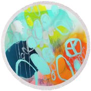 The Right Thing Round Beach Towel