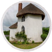 The Roundhouse Aged Round Beach Towel