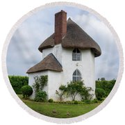 The Roundhouse Round Beach Towel