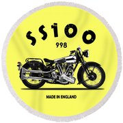 The Ss100 1938 Round Beach Towel by Mark Rogan
