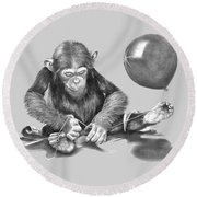 The String Theory Round Beach Towel