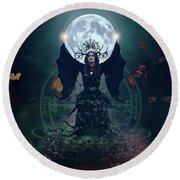 The Witch Round Beach Towel