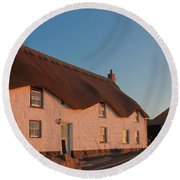 Tinker Taylor Cottage Cornwall Round Beach Towel