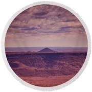 Titilla Peak Round Beach Towel