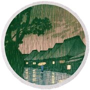 Tokaido Maekawa - Top Quality Image Edition Round Beach Towel