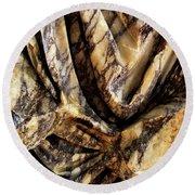 Trajan's Marble Round Beach Towel