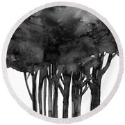 Tree Impressions 1l Round Beach Towel