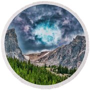 Two Billion Years In The Making Round Beach Towel