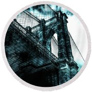 Urban Grunge Collection Set - 08 Round Beach Towel