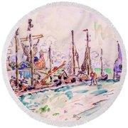 Venice - Digital Remastered Edition Round Beach Towel